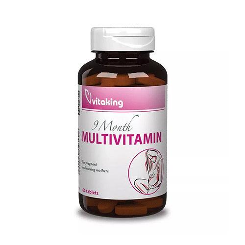 Vitaking 9 Hónap multivitamin várandósoknak - 60db
