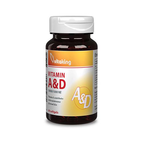 Vitaking A-D-vitamin - 60db