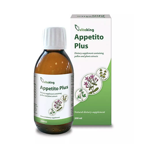 Vitaking Appetito Plus szirup - 200ml