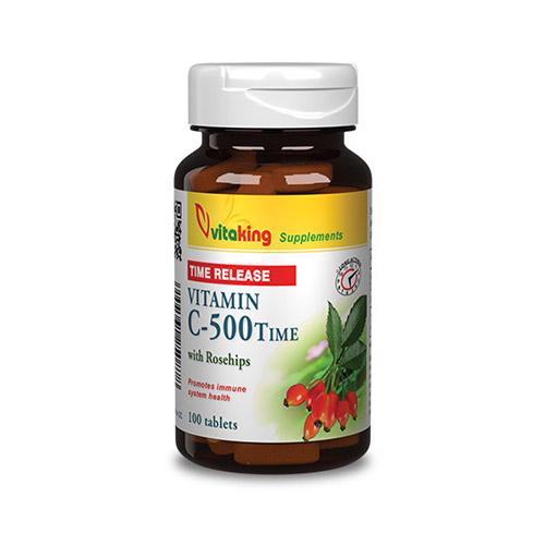 Vitaking C-vitamin 500mg TR elnyújtott felszívódású tabletta - 100db