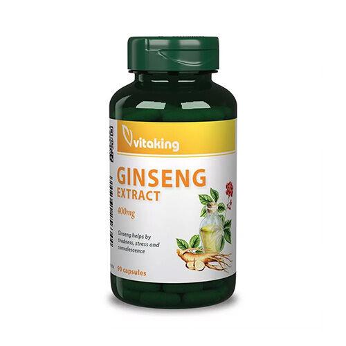 Vitaking Ginzeng kivonat 400mg - 90db
