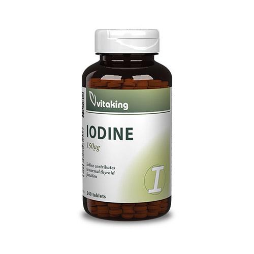 Vitaking Iodine jód 150µg - 240db