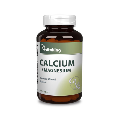 Vitaking Kalcium Magnézium tabletta - 100db