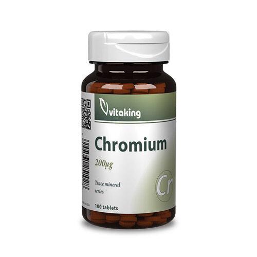Vitaking Króm pikolinát 200µg - 100db