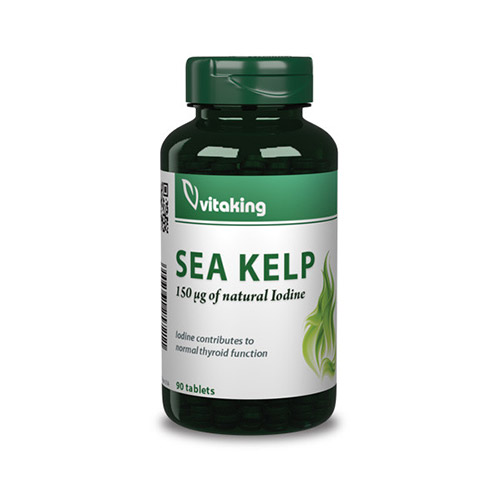 Vitaking Sea Kelp tengeri moszat jód 150µg - 90db