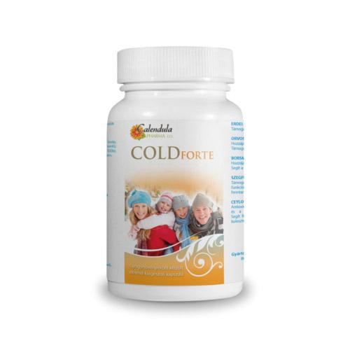 Calendula Pharma Coldforte megfázás vagy nátha esetére - 180db