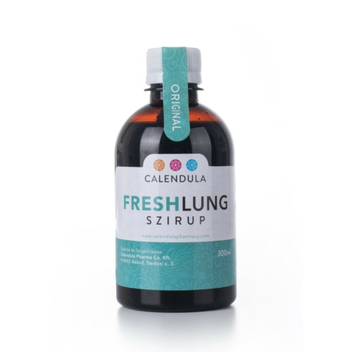 Calendula Pharma Freshlung légúti nyugtató szirup - 300ml