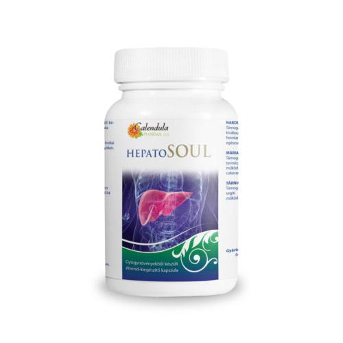 Calendula Pharma Hepatosoul a máj egészségéért - 180db