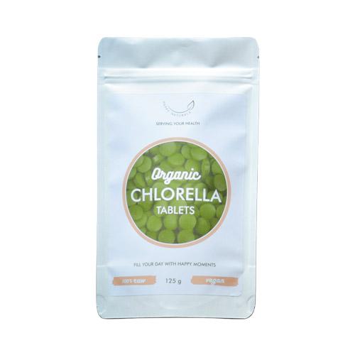 Happy Naturals Bio Chlorella alga tabletta - 125g