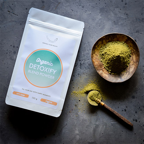 Happy Naturals Bio Detoxify méregtelenítő por - 125g