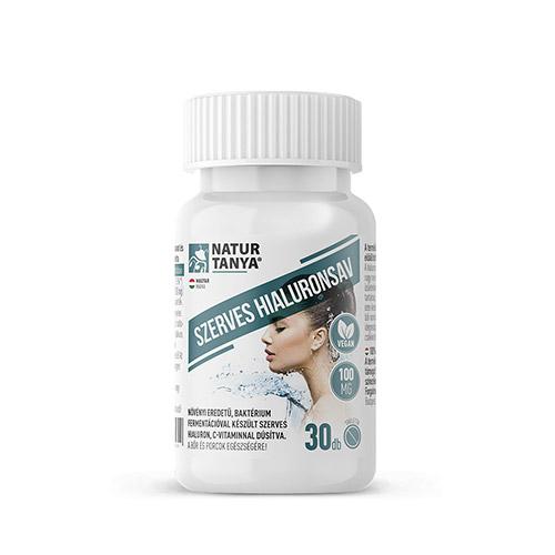 Natur Tanya Szerves növényi hialuronsav + C-vitamin - 30db