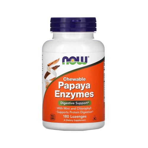 Now Papaya enzim emésztést segítő szopogatótabletta – 180db