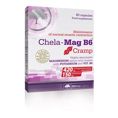 Olimp Labs Chela-Mag B6 káliummal - az izomgörcsök ellen - 60db