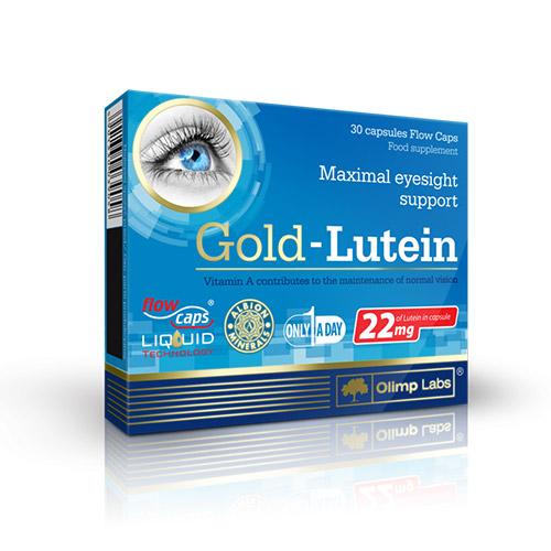 Olimp Labs Gold Lutein - a szemek védelmére - 30db