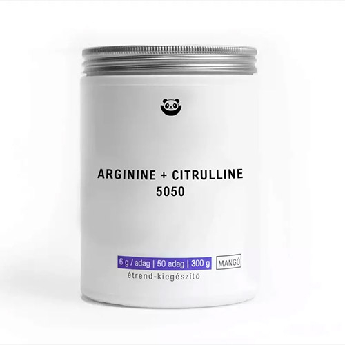 Panda Nutrition Arginin + Citrullin 5050 teljesítményfokozó - 300g