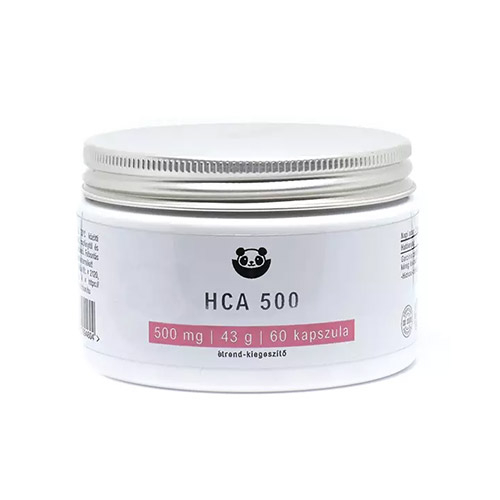 Panda Nutrition HCA 500 diéta támogató étrendkiegészítő - 60db