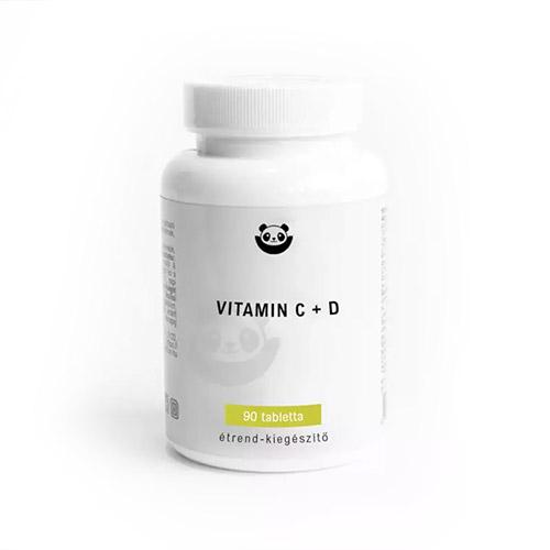Panda Nutrition Vitamin C + D - 90db