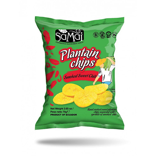 SaMai Plantain chips édes chili - 75g