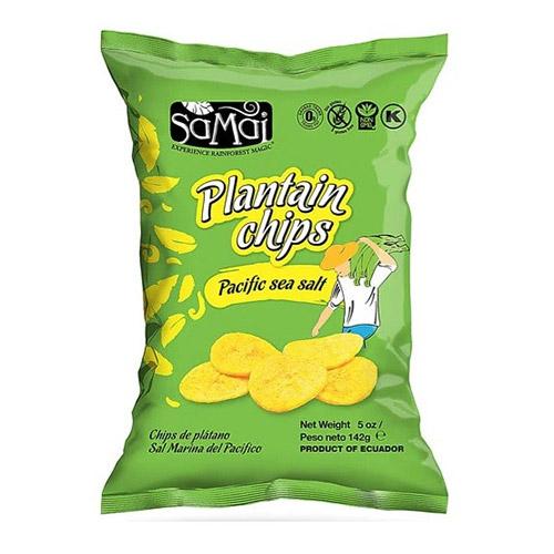 SaMai Plantain chips tengeri sós - 142g