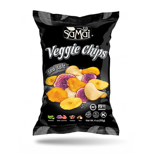 SaMai Veggie chips rainforest tengeri sós - 115g