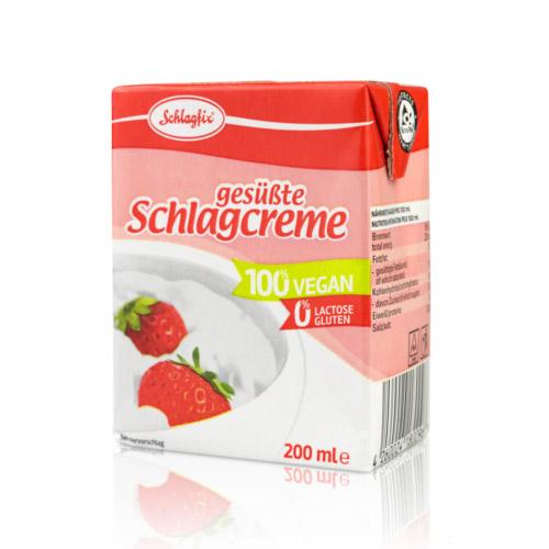 Schlagfix vegán habkrém 15% édesített - 200 ml
