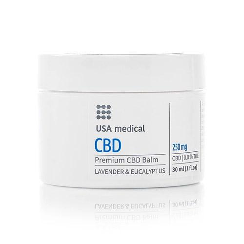 USA Medical CBD kannabisz balzsam 250mg - 30ml