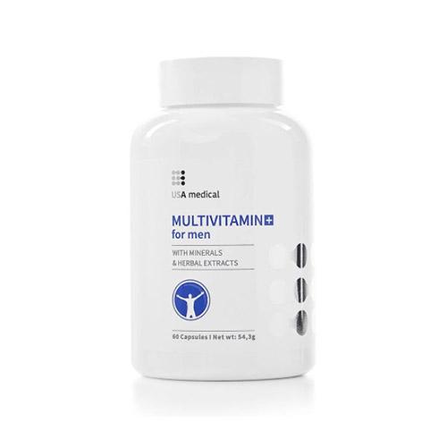 USA Medical Multivitamin férfiaknak - 60db