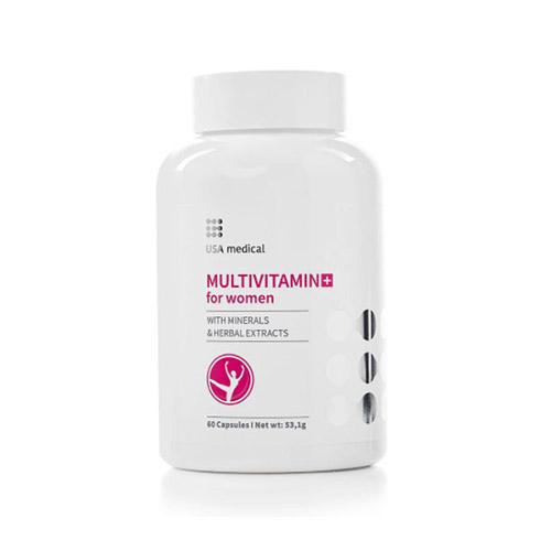 USA Medical Multivitamin nőknek - 60db