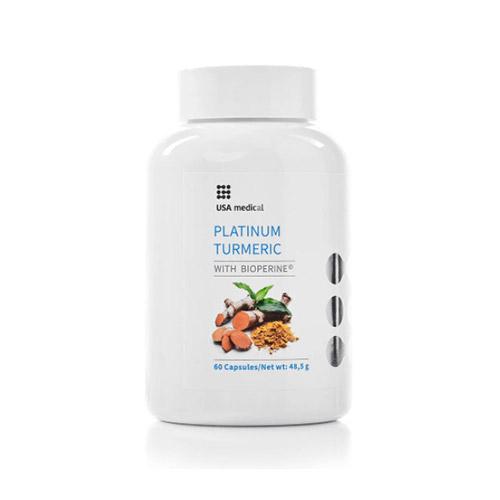 USA Medical Platinum Turmeric kurkuma kapszula - 60db
