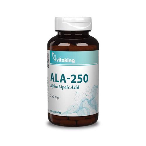 Vitaking Alfa-liponsav 250mg - 60db