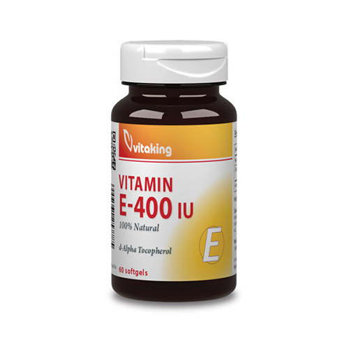 Vitaking E-vitamin 400NE természetes eredetű - 60db