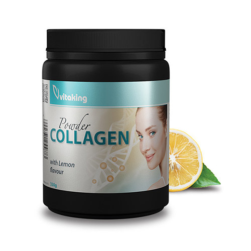 Vitaking Marha kollagén citromos italpor - 330g