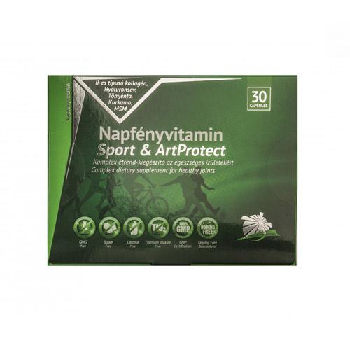 Napfényvitamin Sport ArtProtect ízületvédő komplex - 30db