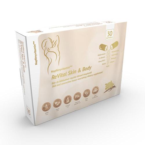 Napfényvitamin Revital Skin Body kötőszövet megújító komplex - 30db
