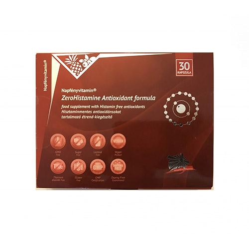 Napfényvitamin ZeroHistamine antioxidáns formula - 60db