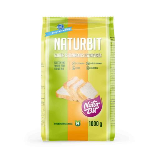 Naturbit glutén- és búzamentes lisztkeverék - 1000g