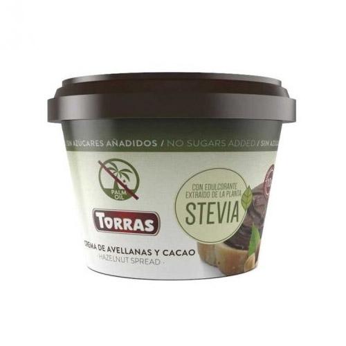 Torras mogyorókrém steviával hozzáadott cukor nélkül - 200g