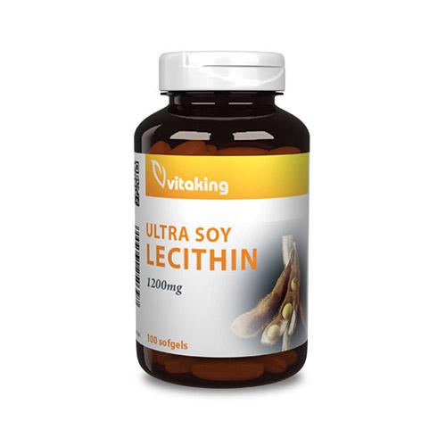 Vitaking Lecitin 1200mg - 100db